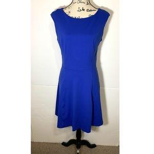 Cynthia Rowley Fit & Flare Sleeveless Zip